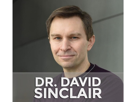 DR. DAVID SINCLAIR | Longevity & Increasing Our Pets' Lifespans