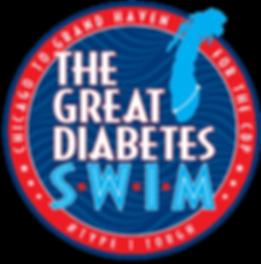 The Great Diabetes Swim Logo
