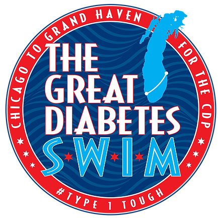The Great Diabetes Swim Logo