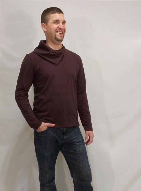 Copper Collong Long Sleeve Shirt