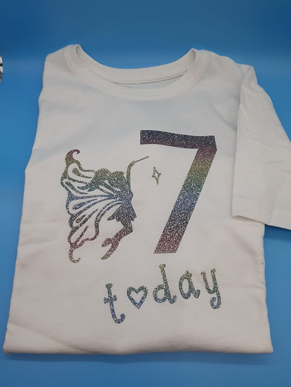 Personalised Birthday T-Shirt (Round neck)