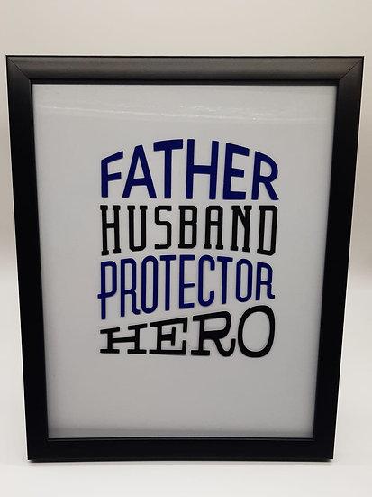Fathers Day Handmade Frame