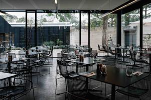 Interior of Cafe Heide