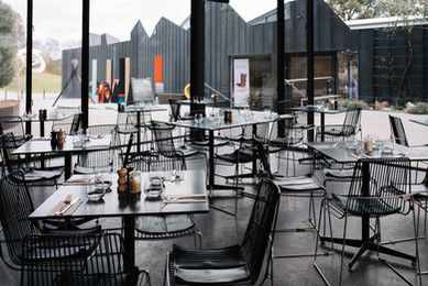 Inside Cafe Heide