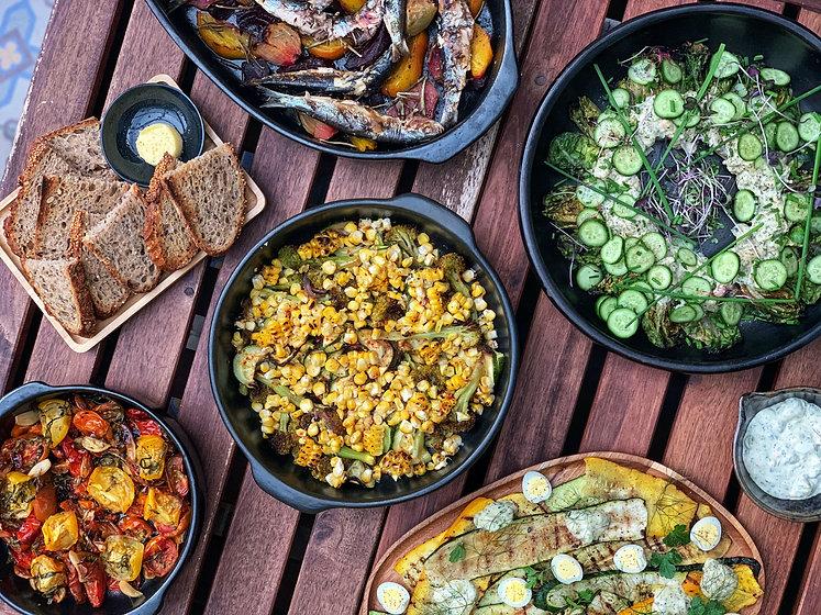 zomer afhaal buffet