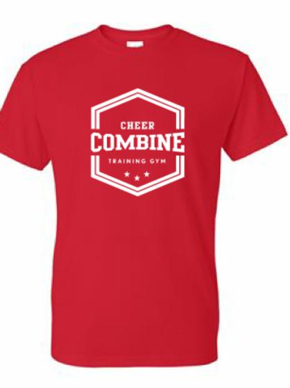 Red T-Shirt w/ White logo