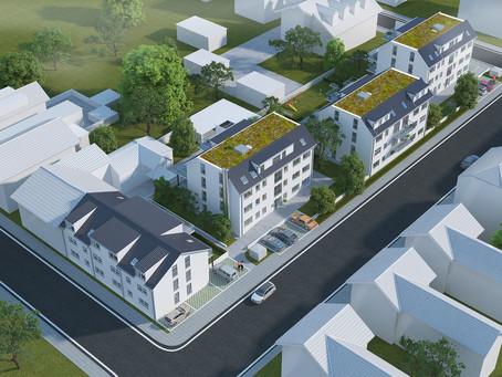 """Projektierung des """"Goethe-Lessing-Wohnpark"""" in Waghäusel-Kirrlach"""