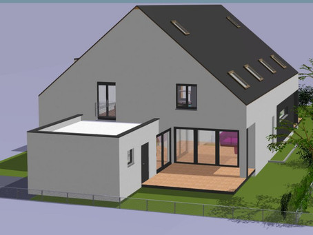 Neubauprojekt in Ubstadt-Weiher, OT Weiher  - 4 moderne DHH - Vermarktung ab Mitte Oktober!