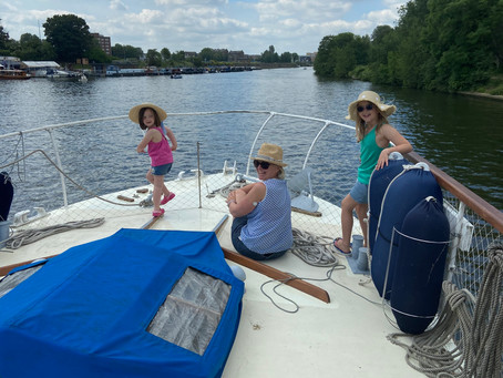 Summertime and the boating is easy