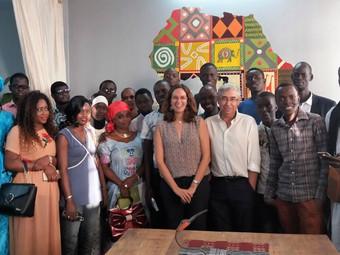 El espacio de coworking como modelo de desarrollo sostenible en Senegal.