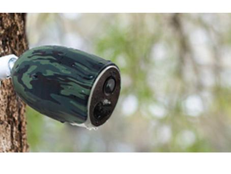 Kamery zewnętrzne działające w sieci GSM lub IP WiFi z własnym zasilaniem na baterie Fotopułapki