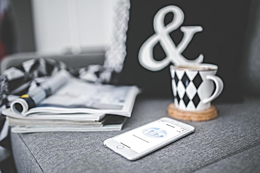 Aplikacja Piri Smart home czujnik otwarc