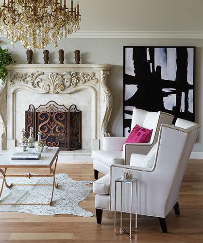 Living Room Makeover by Austin Design