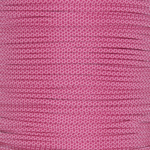 PARACORD 550 - ROSE PINK WITH FUNCHSIA DIAMOND