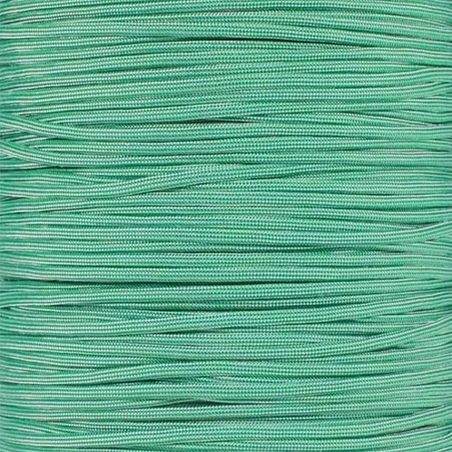 PARACORD 550 - Kelly Green with Silver Stripe