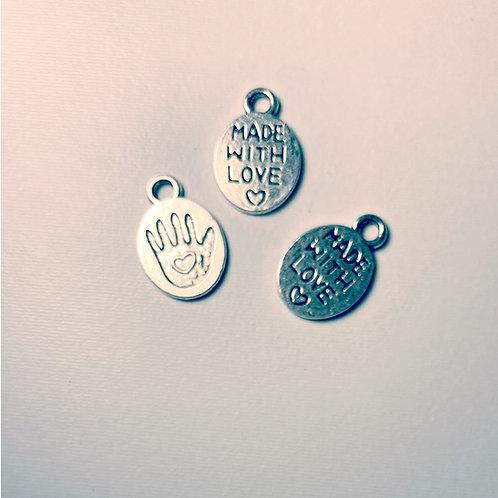 Pingente Feito a mão com amor