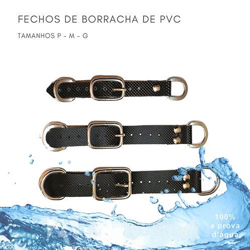 FECHO DE BORRACHA DE PVC