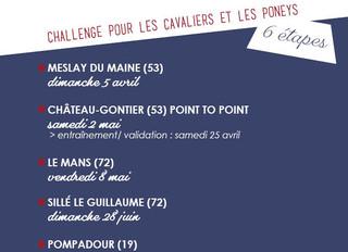 FRANCE SIRE et WEST RACING sponsorisent le 1er Cross poneys Challenge