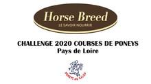 Challenge courses poneys débutants (Indice 1) - Pays de Loire - 4 étapes