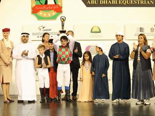 Louis Bouton champion français à Abu Dhabi