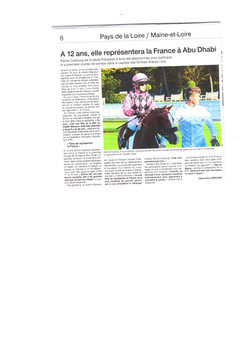 article earine ouest france