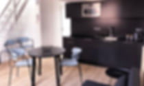 séjour appartement de standing meublé
