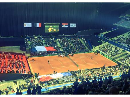 La finale de Coupe Davis France - Belgique à Lille !!