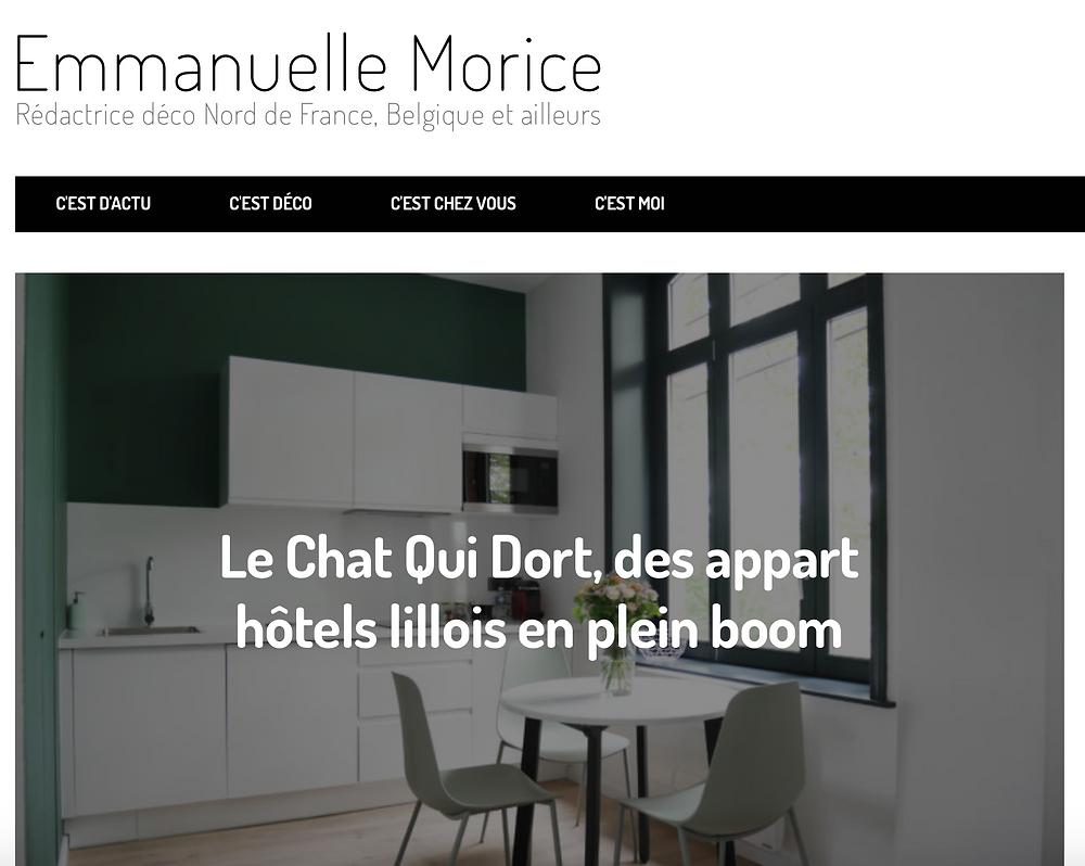 Blog Emmanuelle Morice