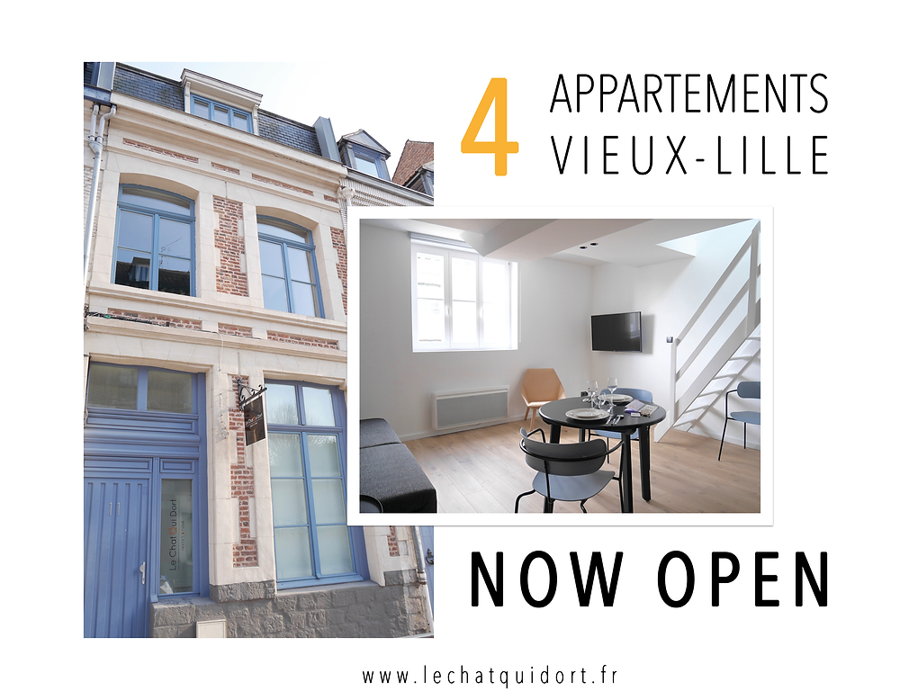 Ouverture Le Chat Qui Dort - Vieux-Lille II -