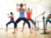 barre class standing abs exercises