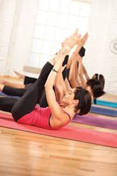 Pilates Scissors mat exercise