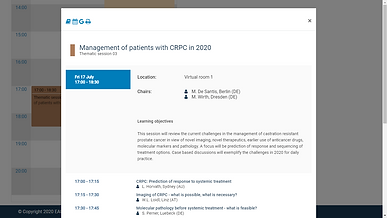 Management of patients with CRPC in 2020