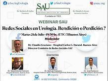 Redes Sociales en Urología. Bendición o Perdición?