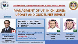 MANAGMENT OF UTI IN CHILDREN:  UPDATE AND GUIDELINES REVISIT