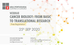 WEBINAR CANCER BIOLOGY: FROM BASIC TO TRANSLATIONAL RESEARCH