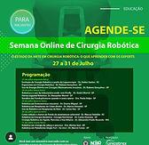 Semana Online de Cirurgia Robótica