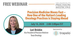 Precision Medicine Moves Fast – How One of the Nation's Leading Oncology Practices is Staying Ahead