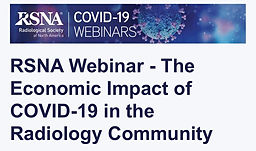 The Economic Impact of COVID-19 in the Radiology Community