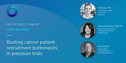 Busting Cancer Patient Recruitment Bottlenecks in Precision Trials