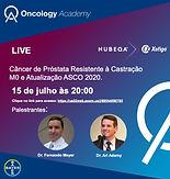 Câncer de Próstata Resistente à Castração M0 e Atualização ASCO 2020.