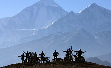 Nepal motorcycle tour