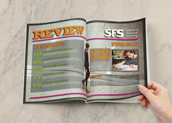 SFS Annual Review contents page