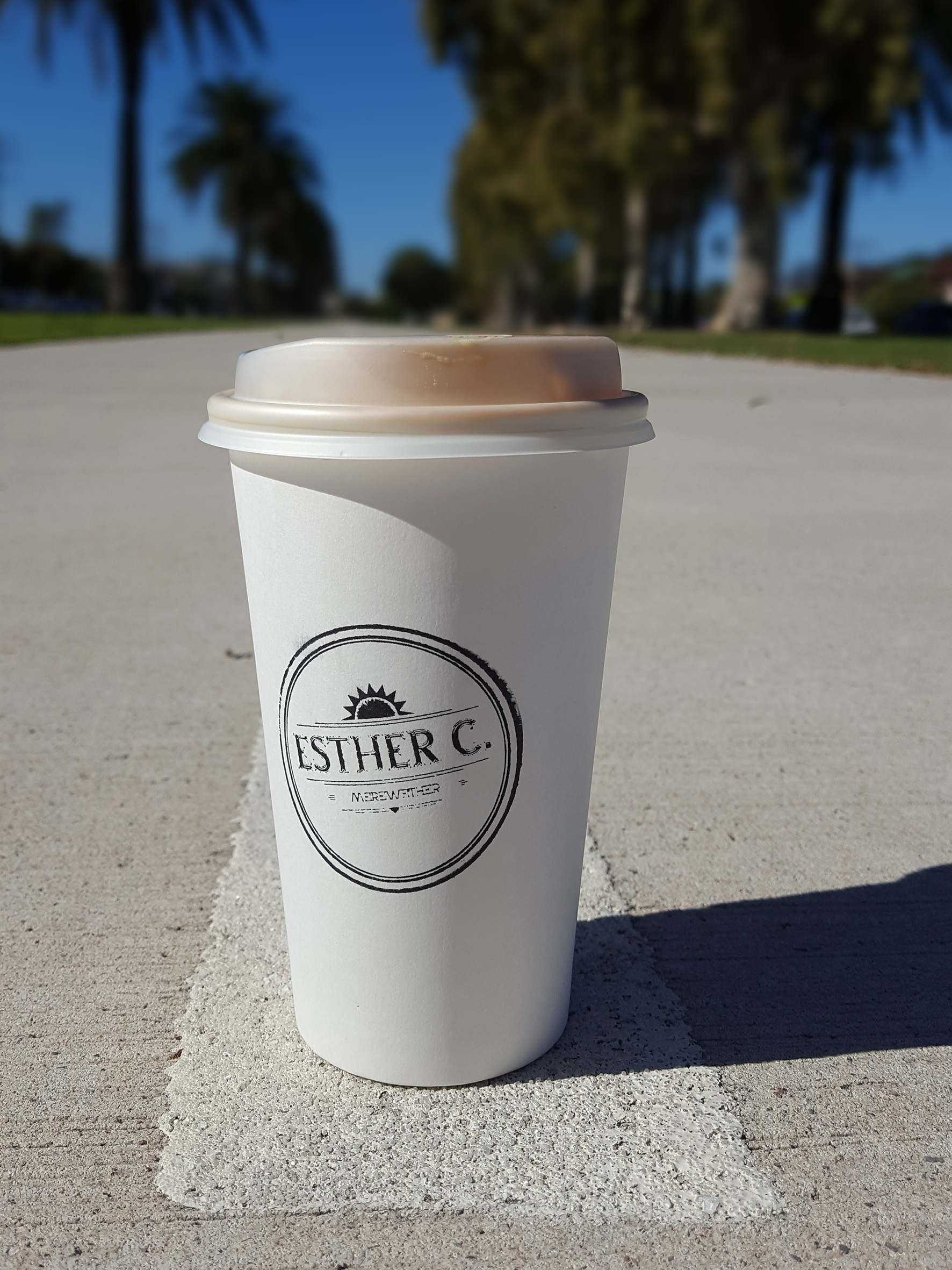 Esther C takeaway cup