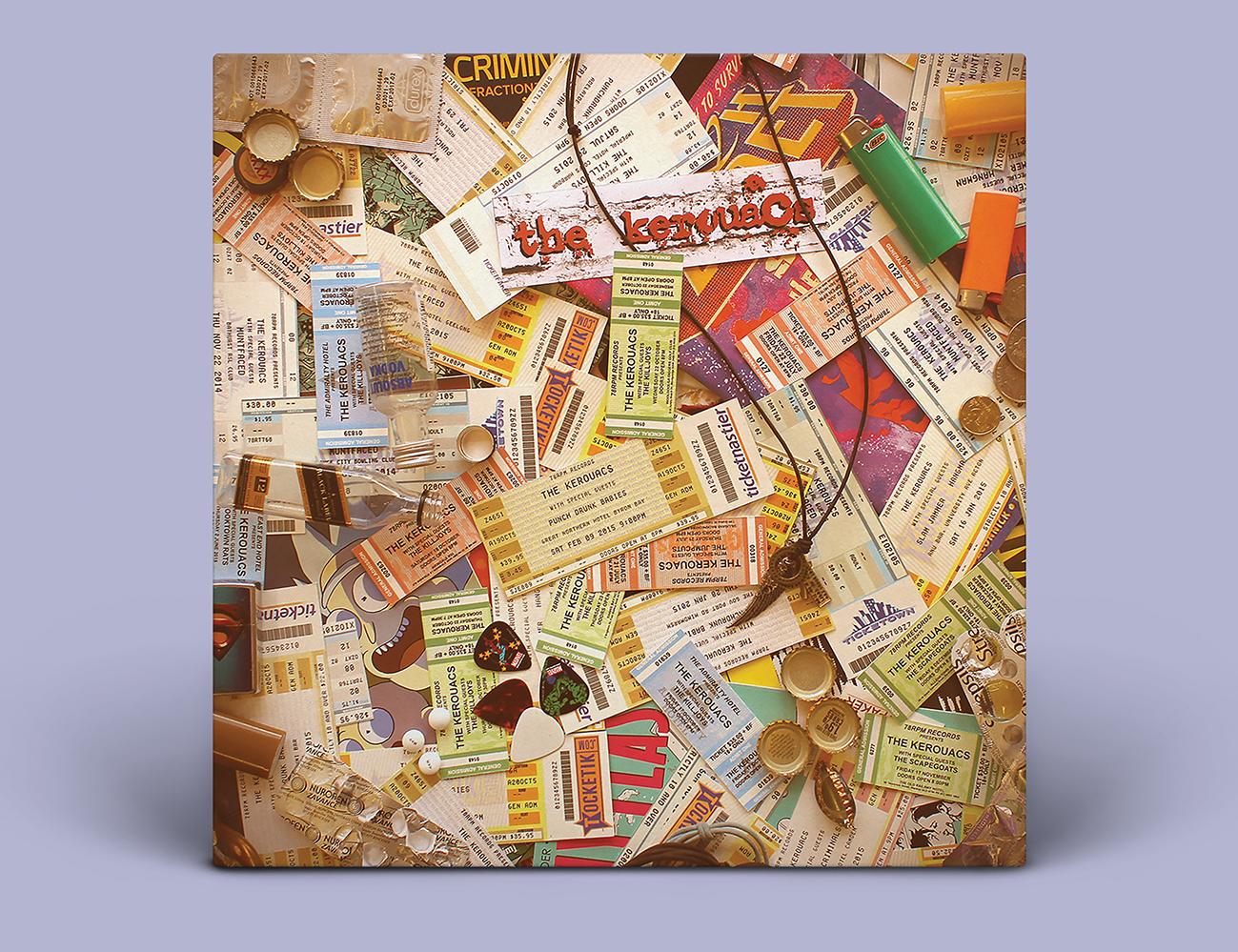 The Kerouacs album cover front