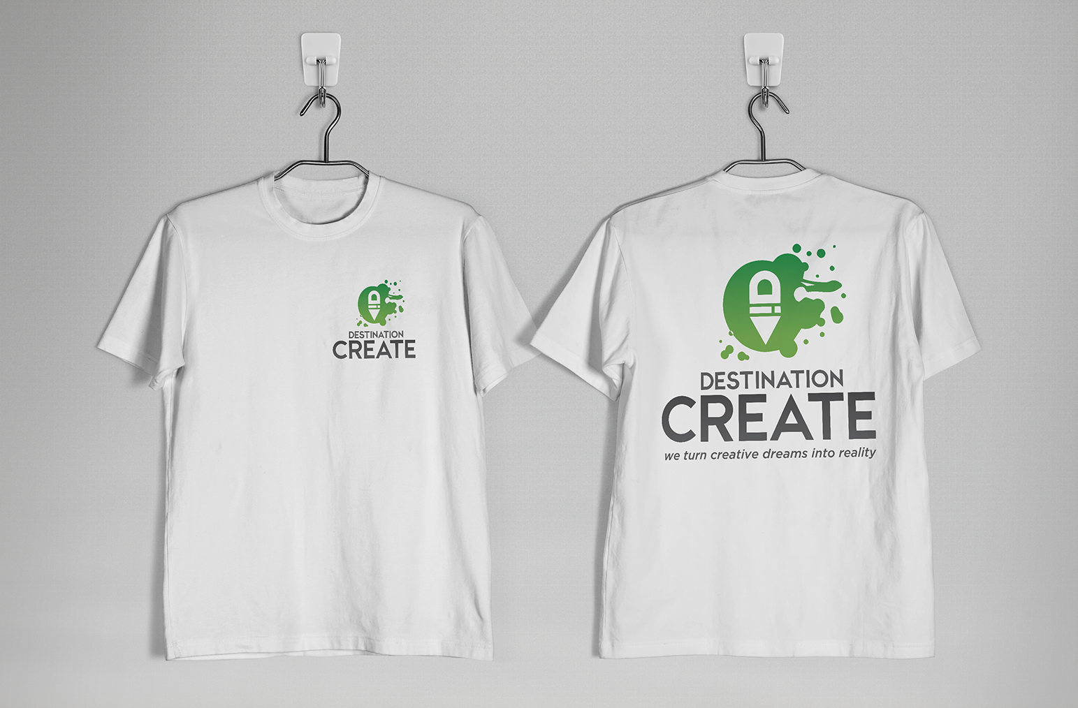 Destination Create shirts