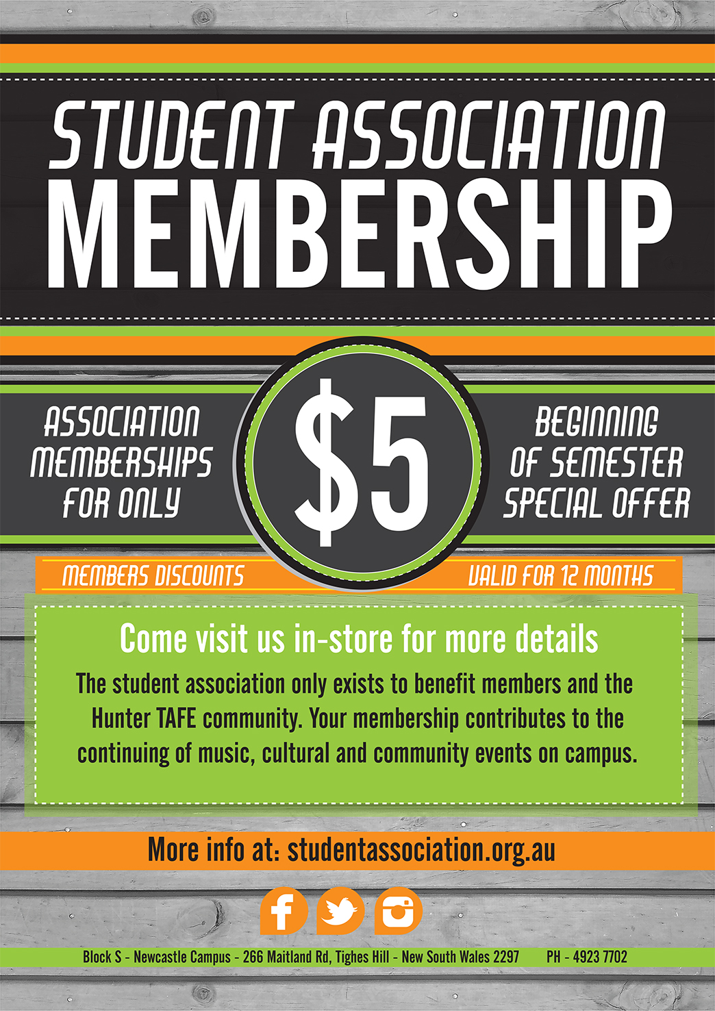 Student Association Membership