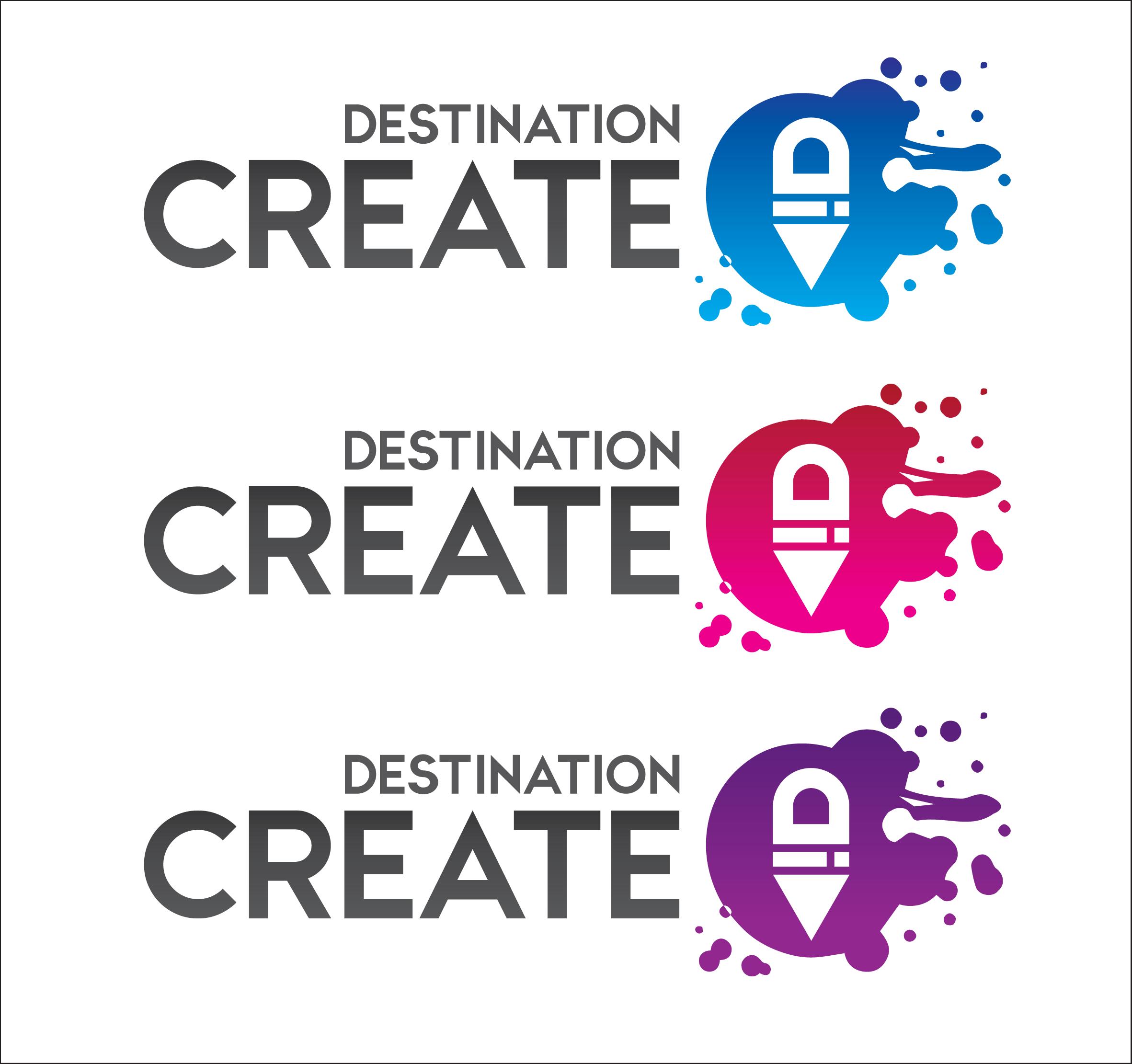 Destination Create logo variations