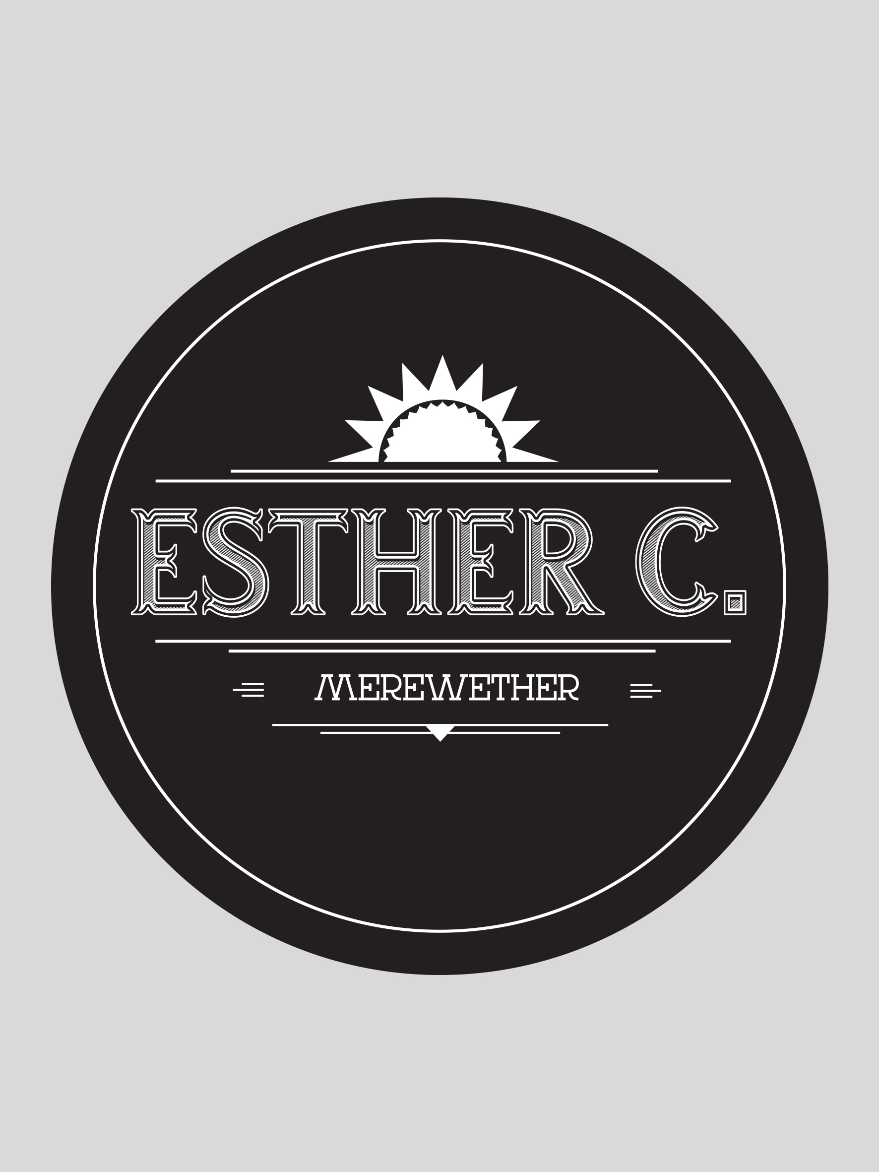 Esther C Logo black