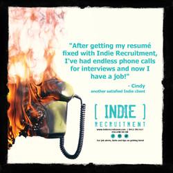 INDIE Recruitment Instagram ad