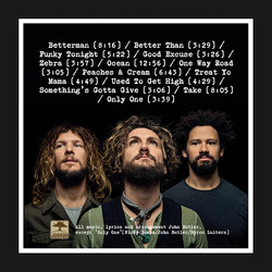 John Butler Trio album back